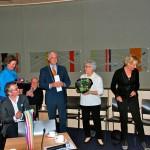 Hermine van der Does in Raadzaal Epe