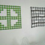 Rita Kok bij expo Geometrie en Optische Illusie